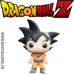 Funko Pop Anime Dragonball Z Goku Cheveux Noirs Edition Limitée