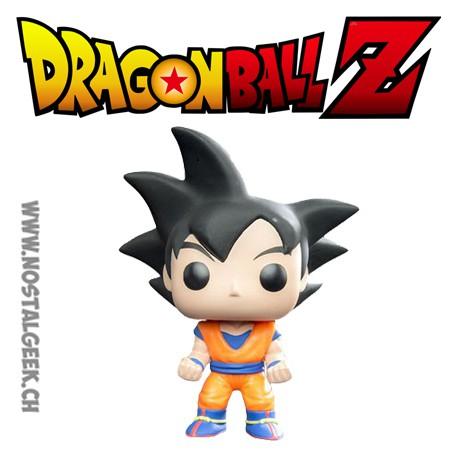 Pop Anime Dragonball Z Goku Black Hair Limited Vinyl Figure