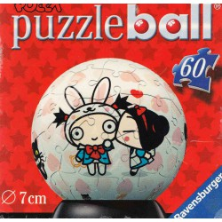 Ravensburger Puzzle ball 60 pièces - Pucca