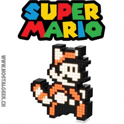 Nintendo Super Mario Raccoon Pixel Pals Light up