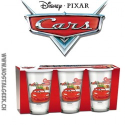 Set de 3 verres Disney/ Pixar Cars