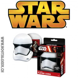 Star Wars Villains Playing Cards in Stormtrooper Helmet Case