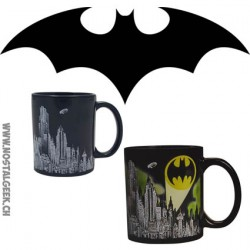 Tasse Batman Gotham qui change de couleur