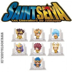 Saint Seiya (Soul of Gold): Petit Chara Land Twelve Temple Arc 2nd Trading Figure (Set of seven pieces)