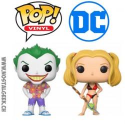 Funko Pop DC Beach Joker et Harley Quinn Edition Limitée