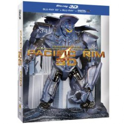 Pacific Rim Combo Blu-Ray 3D Edition Collectible packaging en relief