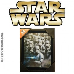Star Wars - Stormtroopers 3D lenticular Cadre