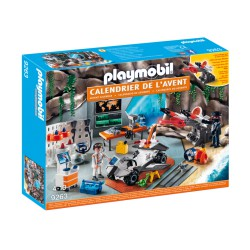 "Playmobil 9263 Calendrier de l'Avent ""Top Agents"""