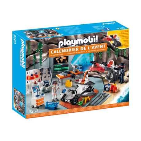 "Playmobil 9263 advent Calendar ""Top Agents"""
