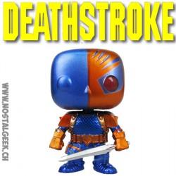 Funko Pop DC Arrow Deathstroke Metallic Limited Vinyl Figure