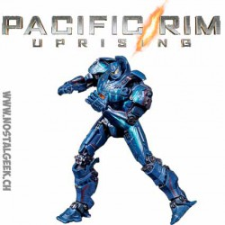 Pacific Rim Jaeger Gipsy Danger Battle at the Docks Figure