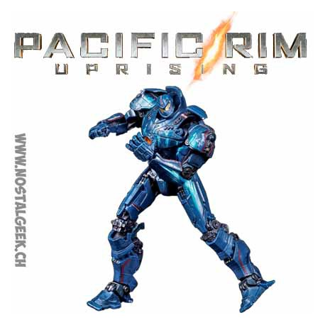 Pacific Rim Jaeger Gipsy Danger Battle at the Docks Figure