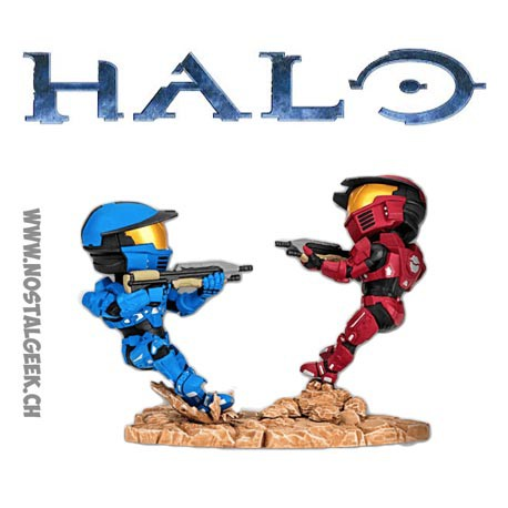 Halo Icons Red Vs Blue Screen Shots Spartan Warzone Figure