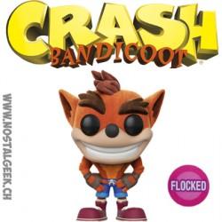 Funko Pop Games Crash Bandicoot Flocked Limited Vinyl Figure