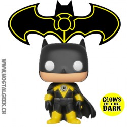 Funko Pop DC Yellow Lantern Batman GITD Limited Vinyl Figure