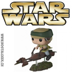 Funko Pop Star Wars Princesse Leia with Speeder Bike Vinyl Figure