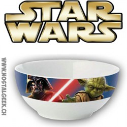 Star Wars Darth Vader and Yoda Bowl