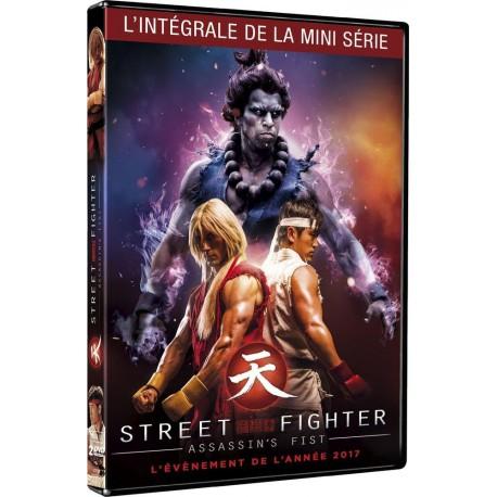 Dvd Street Fighter Assassin S Fist Integrale De La Mini Serie