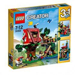 LEGO - 31053 - Creator - Jeu de Construction - Les Aventures dans la Cabane Dans l'arbre