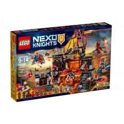 LEGO - 70323 - Nexo Knights - Jeu de Construction - Le repaire volcanique de Jestro