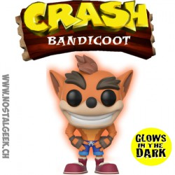 Funko Pop Games Crash Bandicoot GITD Limited Vinyl Figure