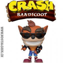Funko Pop Games Crash Bandicoot (Biker Outfit) Edition Limitée