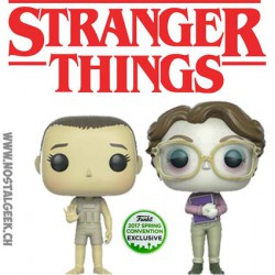Funko Pop ECCC 2017 Stranger Things Upside Down Eleven & Barb Edition Limitée