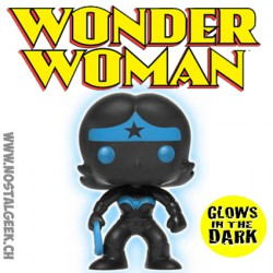 Funko Pop DC Justice League Wonder Woman (Silhouette) Phosphorescent Edition Limitée