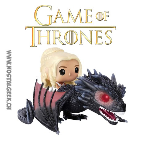 toy funko pop ride game of thrones daenerys et drogon the dragon ge