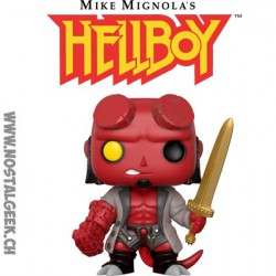 Funko Pop Comics Hellboy with Excalibur Sword Vinyl Figure