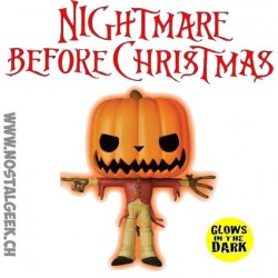 Funko Pop! Disney L'Étrange Noël de Monsieur Jack Pumpkin King Phosphorescent Edition Limitée