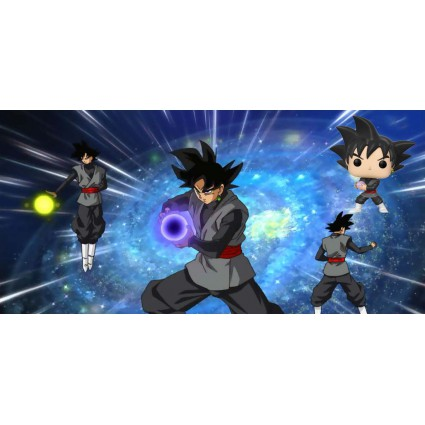 Toy Funko Pop Dragon Ball Super Goku Black Vinyl Figure