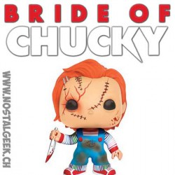 Funko Pop Horror Bride Of Chucky Scarred Chucky Edition Limitée
