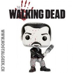 Funko Pop! TV The Walking Dead Bloody Black & WhiteNegan Edition Limitée