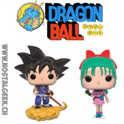 Funko Bulma & Goku with Flying Nimbus 2 Pack Exclusive Vinyl Figure