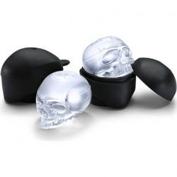 Glaçons en Forme de Crâne (2 pièces)