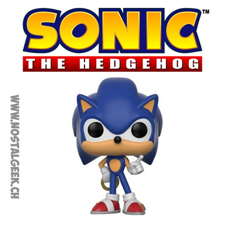 Funko Pop Games Sonic Sonic with Ring
