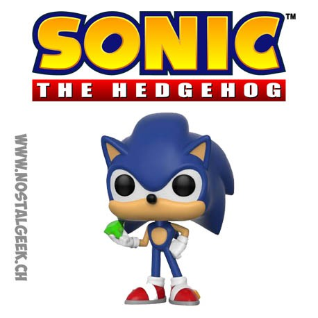 Funko Pop Games Sonic Sonic with Emerald