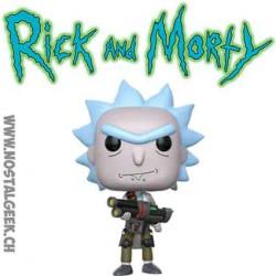 Funko Pop Rick et Morty Weaponized Rick Vinyl Figure