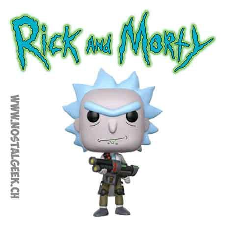 Funko Pop Vinyl Figure Rick and Morty Weaponized Rick