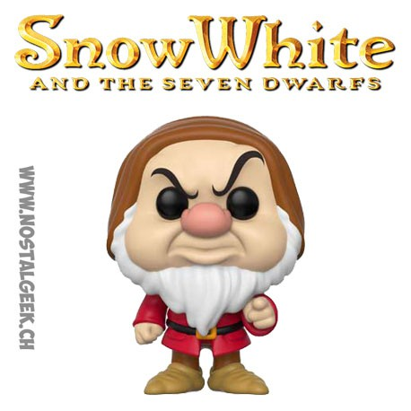 Funko Pop Disney Snow White (Blanche Neige) Grumpy (Grincheux)