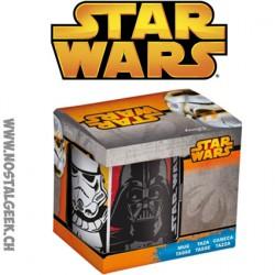 Mug Star Wars Darth Vader-Stormtrooper-Yoda-R2-D2