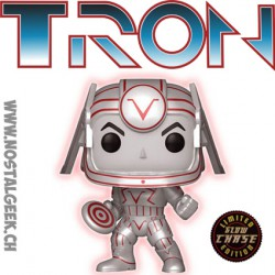 Funko Pop Disney Tron Sark Phosphorescent Chase Edition Limitée