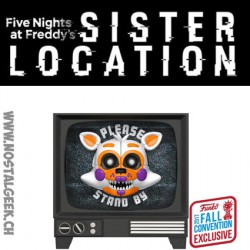 Funko Pop! NYCC 2017 Games Five Nights at Freddy's Sister Location Lolbit Edition Limitée