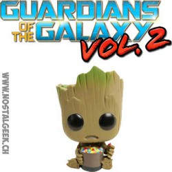 Funko Pop Guardians of the Galaxy 2 Groot with Candy Bowl Edition Limitée