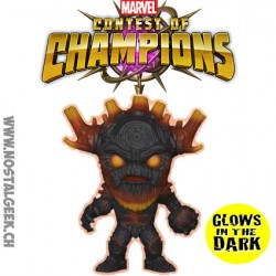 Funko Pop Game Marvel Contest of Champions King Groot Phosphorescent Edition Limitée