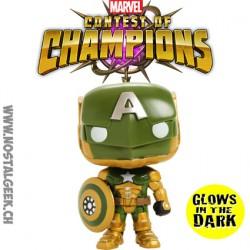 Funko Pop Games Marvel Contest of Champions Civil Warrior Phosphorescent Edition Limitée