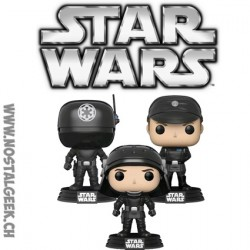 Funko Pop Star Wars Gunner, Officer & Trooper Edition Limitée