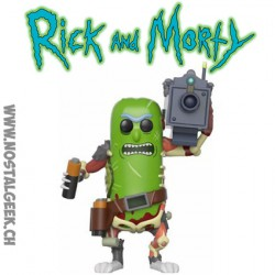 Funko Pop Rick and Morty Pickle Rick with Laser Vinyl Figure