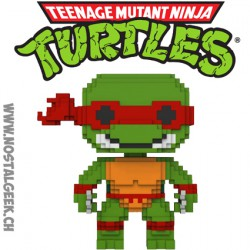 Funko Pop Cartoons Teenage Mutant Ninja Turtles 8 bit Raphael Vinyl Figure